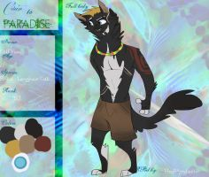 ~Ctp - Cliff Foxe reference~ by bedheadd