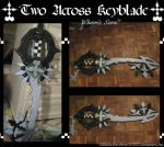 "Two Across ""?"" Keyblade by Rinkulover4ever50592"