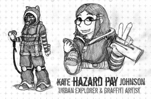 Kate 'Hazard Pay' Johnson SR5 Edition by JohnColburn