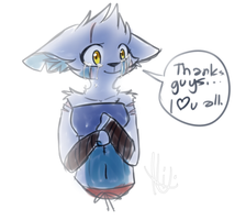 Thank you by TMNTNixenXD