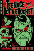 Teenage Bottlerocket shirt design by zombie-you