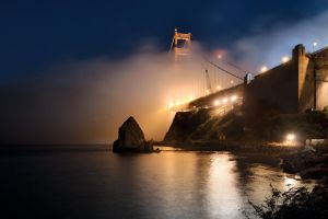 Golden Gate Fog by MattGranzPhotography