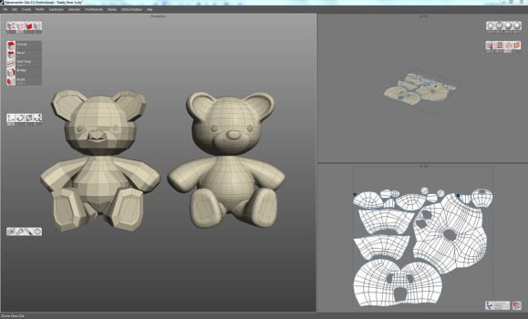 Teddy Bear 3D Resource by pixelworlds