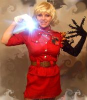 Seras self-portrait by gypsy-arts