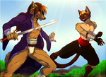 ''Friendly fire'' (Commission) by NinjaKato