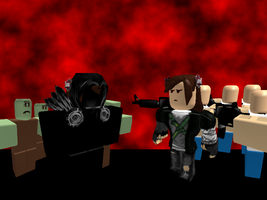 Zombies Fighters roblox Style by kuranszo