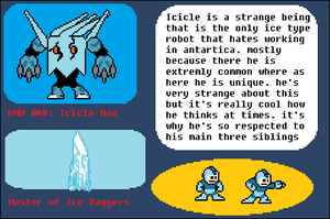 Icicle Man Bio by RP-GhostMan
