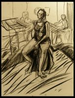 charcoal lady by pheona