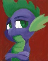 Spike Portrait by Grey-Walker