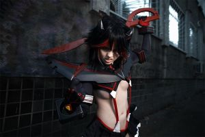 Ryuko Matoi - Ready to fight! by Fenyachan