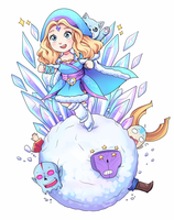 Snowball Race [reworked] design for workshop! by keterok