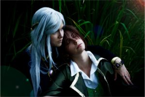 Havi x Vald - taking a rest by Eressea-sama