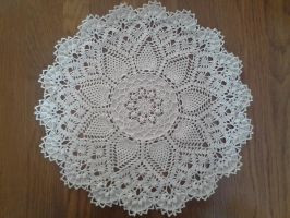 Pineapple Song Doily by koepr5333