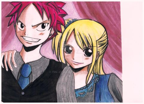 Natsu loves Lucy ! by tin--chan