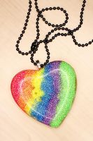 SALE - Neon Heart Necklace 1 by xLilithScreamx