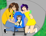 EricxChance: baby at the park by RubySpirit
