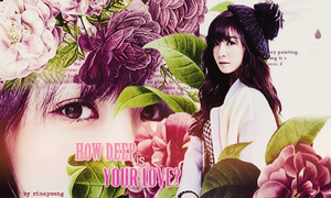 [040115] How deep is your love? by rinayoong