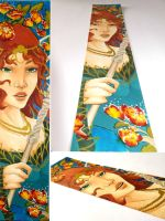 Bookmark Com for Lady-Woods by Mrs-Waffle