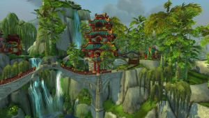 The Jade Forest- River Palace by Bluemead