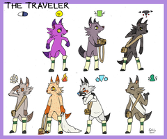 A Traveler for all Kingdoms by Strontium-Chloride
