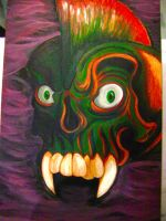 Skull Painting by M60RPD