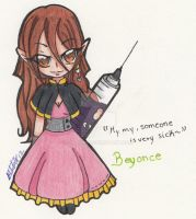 Chibi Beyonce Gilliet by SariUmi