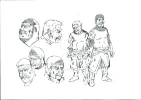 Medieval character study by MarcoCalosci
