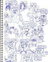 My Little Sketch Dump 35 by SonicUnbelieveable