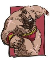 Zangief by galgard