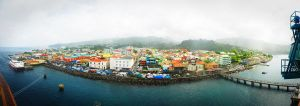 Dominica Ship View by CSStriker