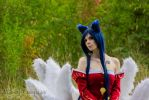 Ahri League of Legends Cosplay by xAtashix