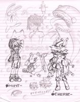 Doodle from School by chiihime-chan
