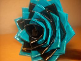 Duct Tape Rose Pen by Cookie4life