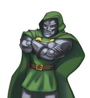 Dr. Doom by hybridmink