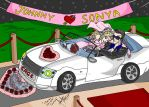 Just Married: Johnny Cage and Sonya Blade by divadonna224