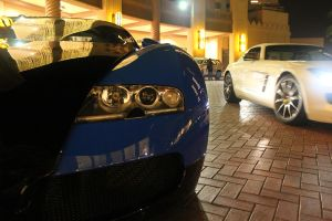 SLS and Veyron by ramyk
