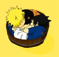 cutest sasunaru by xxxyaarxxx