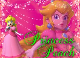 Princess Peach Wallpaper 2 by kcjedi89