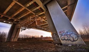 under the bridge by hotonpictures
