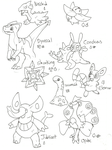 Fakemon45 by Kurigaru