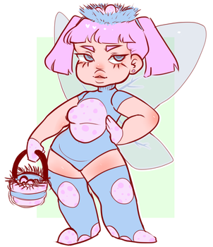 Egg girl fairy adopt! by BolinsEyebrows