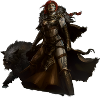 Guild Wars 2 Norn Render by Sevowen