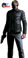 leon s. kennedy-resident evil 6-render by agarest-of-war