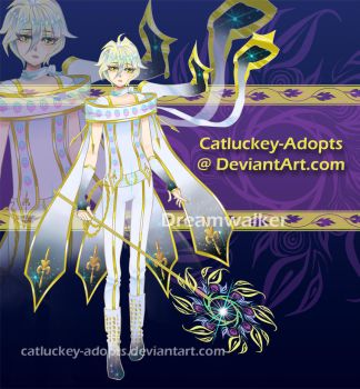 [Closed] Dreamwalker [Auction Adopt] by Catluckey-Adopts