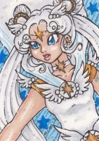 ACEO Sailor Cosmos by nickyflamingo