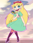 Star Butterfly by WASD-Paint