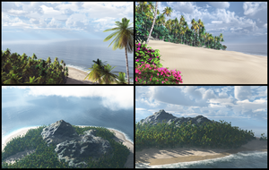 Postcards from Paradise by jbjdesigns