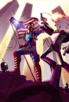 All-star - Final Stand - commission from SwixSwax by Zachula