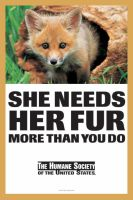 Stop Buying Fur by Champineography
