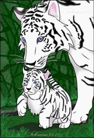 Mother and Cub by telenine341